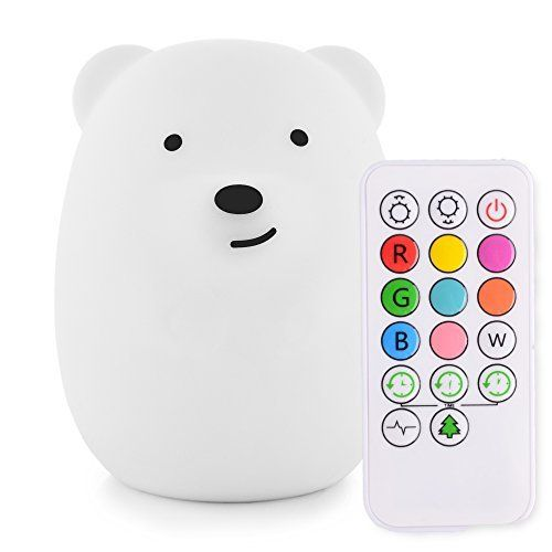 Emoova Night Lights For Kids 3modes Portable Silicone Led Sensitive Slap Control Usb Charging 8 Single Colo Baby Night Light Night Light Kids Best Night Light