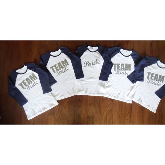 Bachelorette Party Shirts Team Bride And Party Shirts On