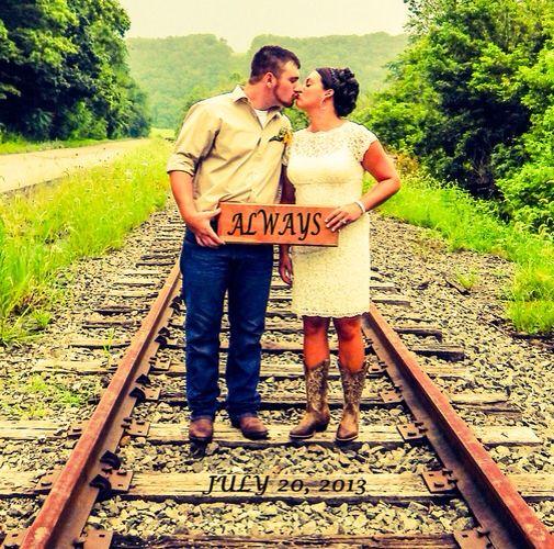 Always on the railroad tracks <3