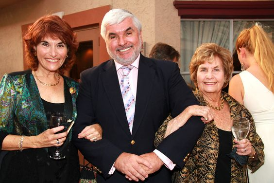 Alice Cotman, Cliff Roles & Nona McDonald at the One World Gala reception on March 28, 2012