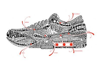 That's an amazing shoe doodle!  It's Called Design: LEGACY OF LETTERS : LUCA BARCELLONA