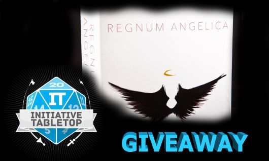 IT Giveaway Regnum Angelica, an angelic card game by Black Locust Games! #tabletop #boardgames #giveaway