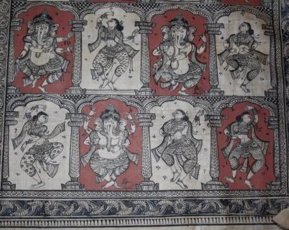 Patta Chitra / Canvas Paintings, Orissa, India