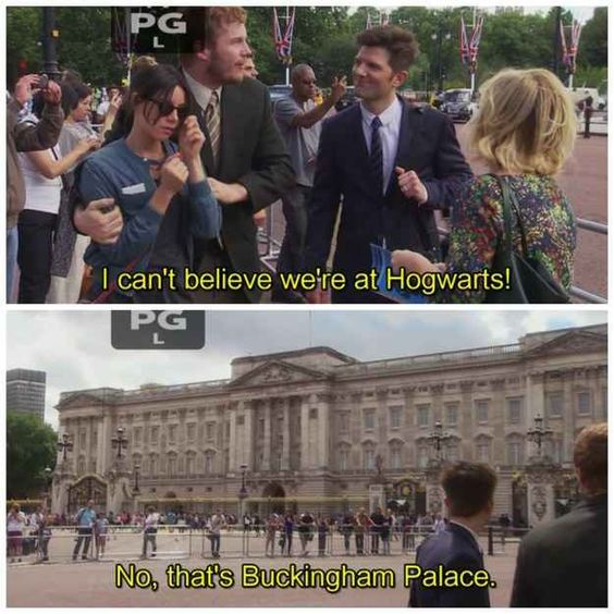 """You're a HUGE Harry Potter fan. 