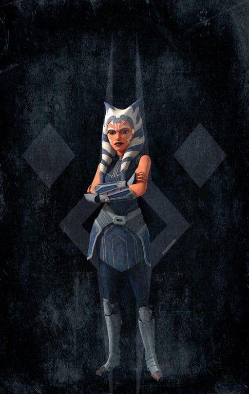 Ahsoka Tano Wallpaper Star Wars Ahsoka Star Wars Art Star Wars Pictures