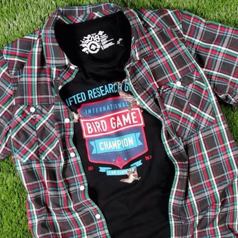 Field Studied Short Sleeve & Bird Game Champ Tee are available now at your favorite @LRG Clothing retailer! #LRG