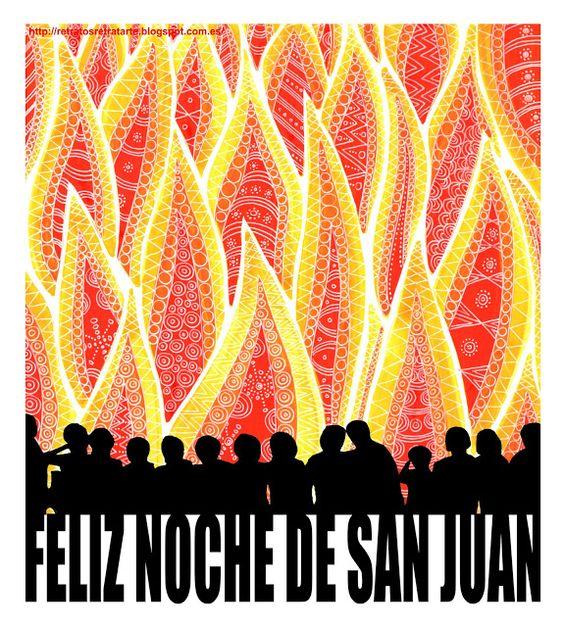 "Felicitación ""Noche de San Juan"""