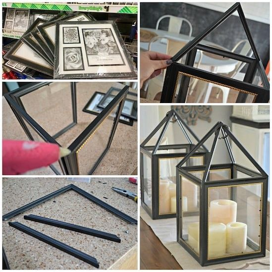 Dollar Tree Diy Picture Frame Candle Holder Dollar Tree Diy