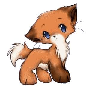 cute chibi fox