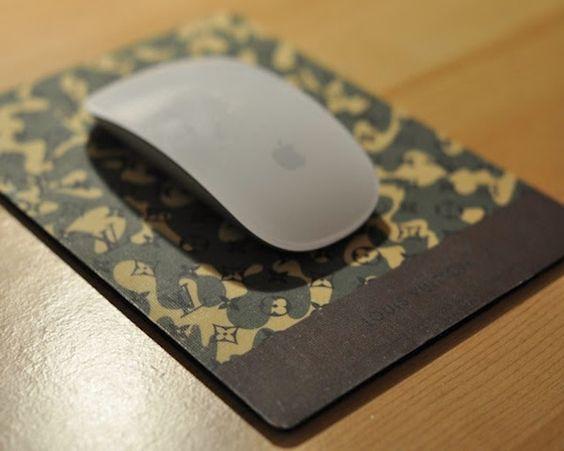 Louis Vuitton Mouse Pad / New Takashi Murakami ×Louis Vuitton Monogramouflage Mouse Pad! http://thegadgetflow.com/portfolio/louis-vuitton-mousepad