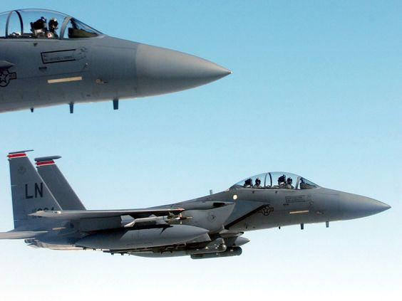 F-15 Eagle Flight