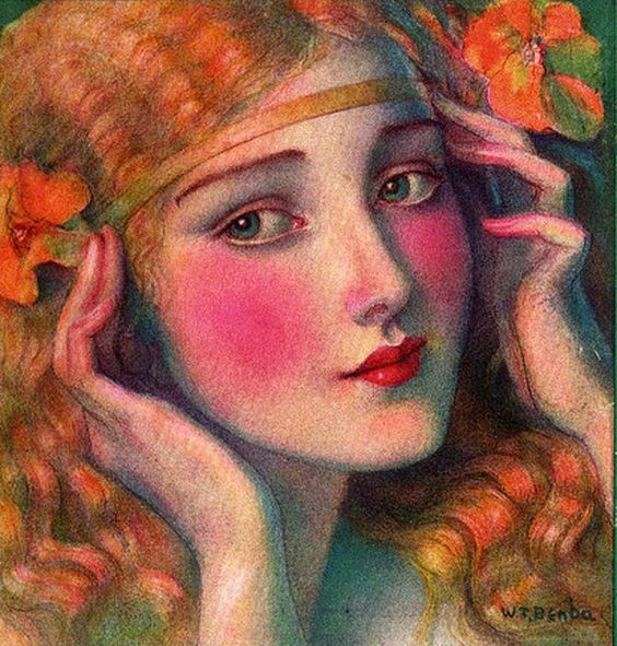 Hearst's International Illustration - Wladyslaw Theodor Benda (1873 – 1948):