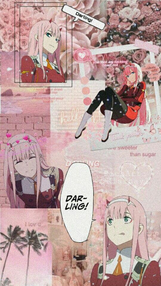 Zero Two Wallpaper Aesthetic Anime Cute Anime Wallpaper Anime Aesthetic Anime