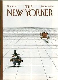 New Yorker Magazine - November 26, 1973 - Cover by George Booth