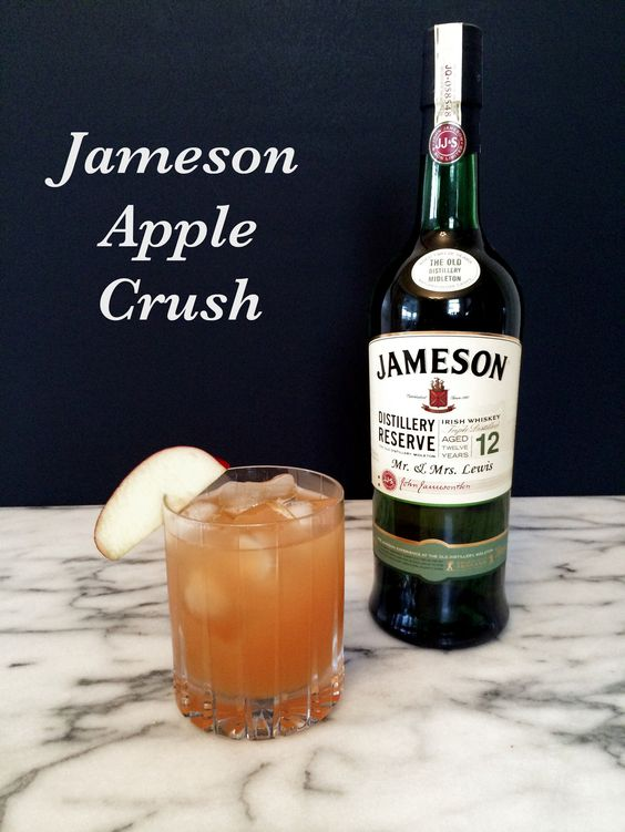 Jameson apple crush trips jameson irish whiskey and home for Jameson mixed drinks recipes