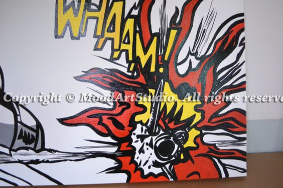 Detalle cuadro - Roy lichtenstein cuadros ...