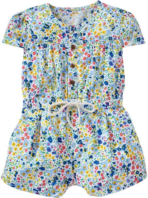 Old Navy | Button-Front Rompers for Baby
