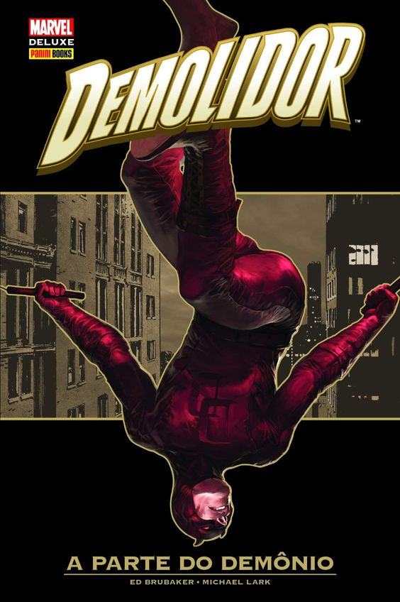 Demolidor - A Parte do Demônio - Marvel Deluxe - MonsterBrain
