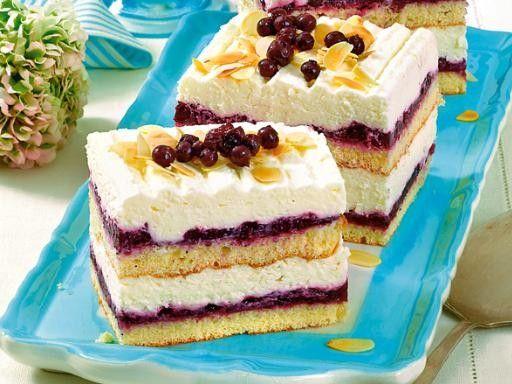 Blaubeer Schnitten Rezepte Bildderfrau De Kuchen Rezepte Einfach Desserts Ohne Backen Kuchen Rezepte