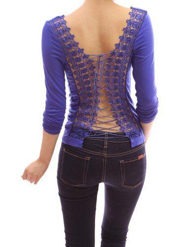 PattyBoutik Stunning Corset Embroidered Back Long Sleeve Party Clubwear Blouse Top (Blue M) Patty,http://www.amazon.com/dp/B00BOJBTXS/ref=cm_sw_r_pi_dp_QqhWsb0Z39695QW3