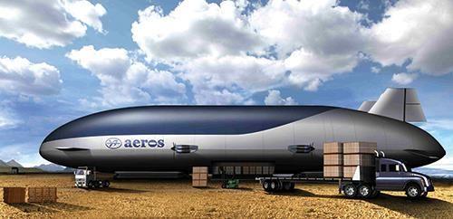 Aeroscraft Airship