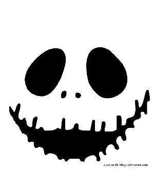 jack skellington face template - pumpkin carvings black and pumpkins on pinterest