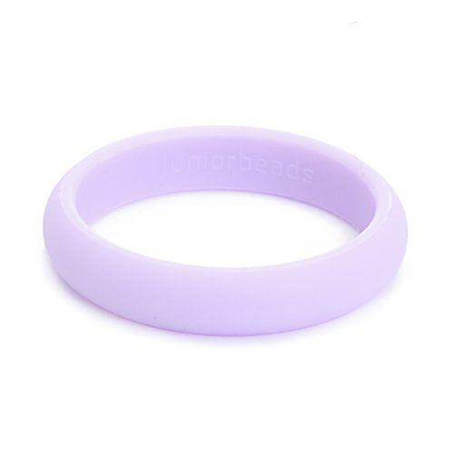 Purple Skinny Charles Bangle Bracelet Chewbeads Jr Teething Jewelry