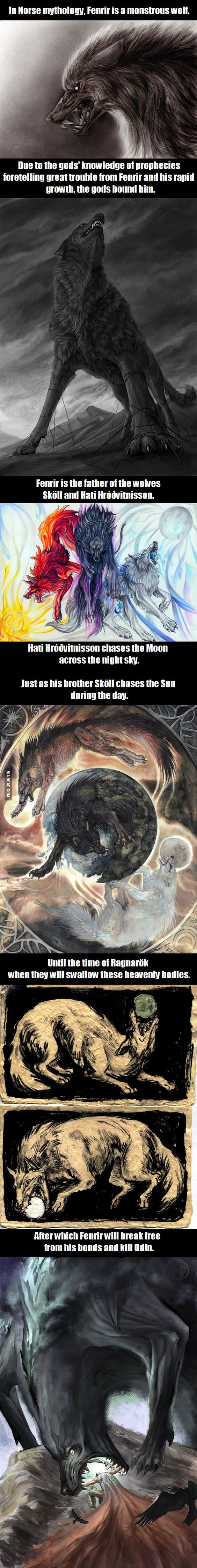 i heard you guys like dragons what about mythical wolves nice