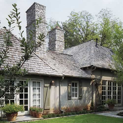 Stucco Siding Shutters And Cottages On Pinterest