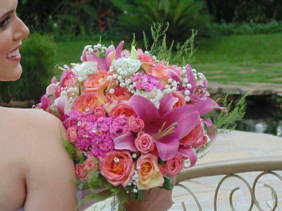 Bouquet em tons pastéis!
