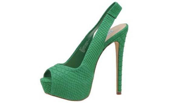 Steve Madden Emerald Green Shoes <3