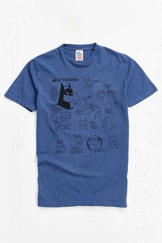 Junk Food Batman Drawing Tee