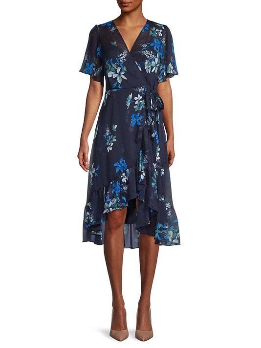 36+ Chiffon faux wrap dress ideas