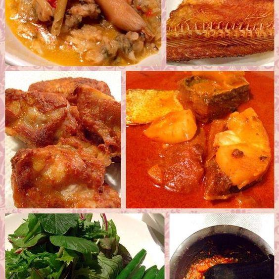 レシピとお料理がひらめくSnapDish - 8件のもぐもぐ - Lauk Kampung #gulaiikantalang #lalamasaemak #ikankering #ulam #ayamgoreng #sambalbelacan by yanNa