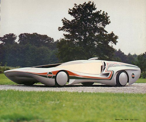1978 Colani New RS concept car (via Old Pics Archive on Twitter)