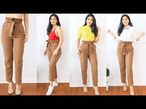 1 Pantalon 5 Outfits Como Combinar Un Pantalon Cafe Bessy Dressy Youtube Pantalon Cafe Pantalon Cafe Mujer Combinar Pantalon Cafe