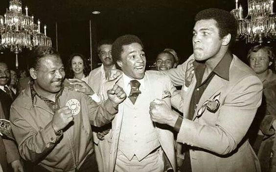 Robinson, Leonard and Ali in Black and White - Codeblack Icons