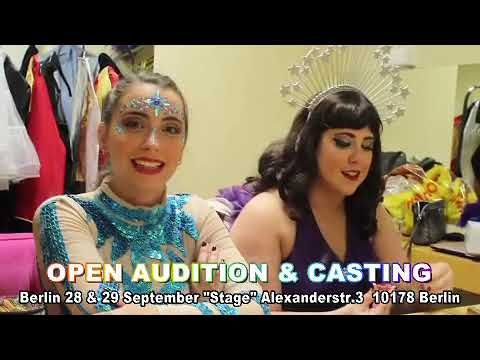 Open Audition Berlin Casting Berlin For Singers Artists Performers In 2020 Singer Audition Berlin