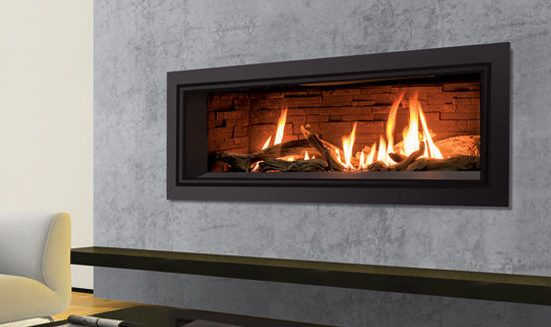 The Enviro C44 Gas Fireplace Available From Urban Fireplaces Ltd