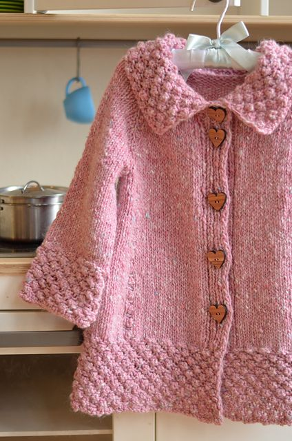 Ravelry: Project Gallery for Roseberry Cardi pattern by Monika Sirna