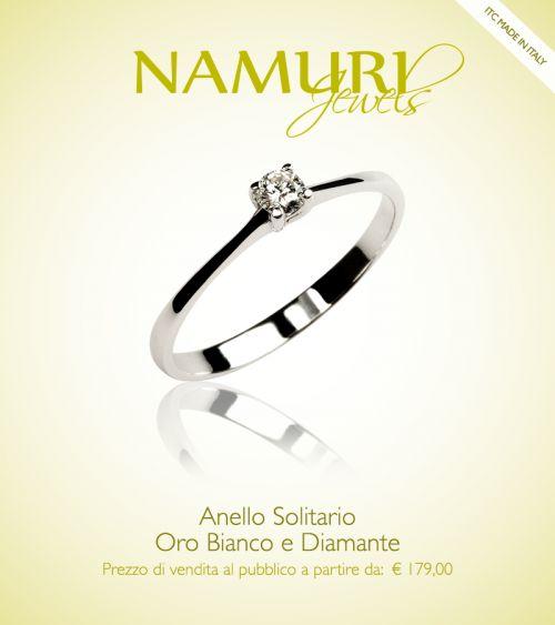 Oro bianco e un diamante. L'essenza dei sentimenti racchiusa in questo anello solitario.  Anello Solitario è una nuova campagna su ITC PORTALE: https://itcportale.it/items/anello-solitario-3/ #itcportale #jewelry #diamond #lifestyle #musthave #wedding #engagement #madeinitaly #diamanti #orobianco #gioielli