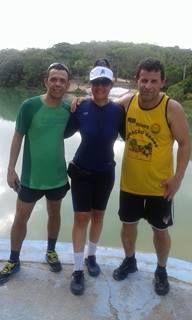 Treino com meus colegas Itapissuma via Ilha de Itamaracá Lagoa Azul - 14 km 04/01/2016