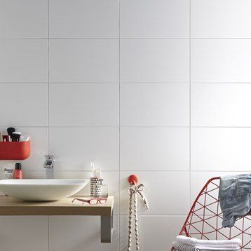 Pinterest le catalogue d 39 id es for Carrelage faience blanc