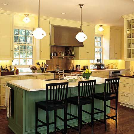 A Small Kitchen Island For the Modern day Kitchen Design