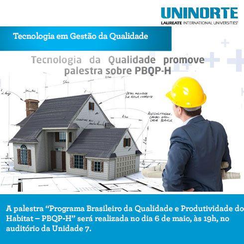 Tecnologia da Qualidade promove palestra sobre PBQP-H