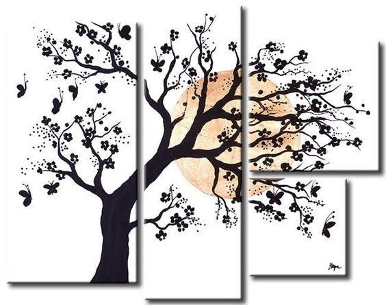 Hacer cuadros modernos para habitaci n de matrimonio decoraci n y diy y manualidades - Cuadros para habitacion de matrimonio ...