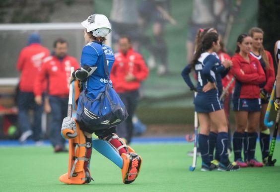 Maddie Hinch- Great Britain and England Goalkeeper- Ritual Hockey Photo: Lawrence King