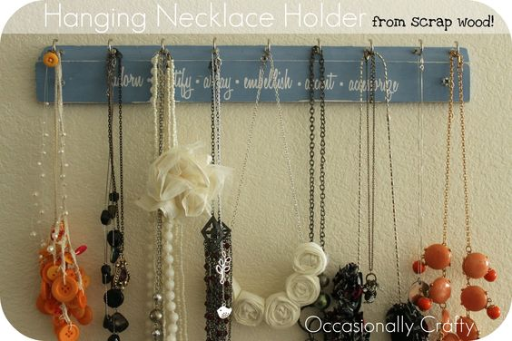 Occasionally Crafty: Very Jane Give Necklace Hanger