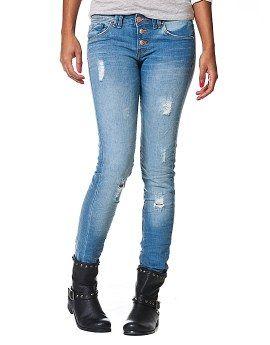 Ripped skinny jeans - Terranova
