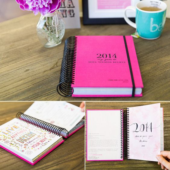 The Lorna Jane 2014 Planner will help you schedule workouts, your day, meals, and more!